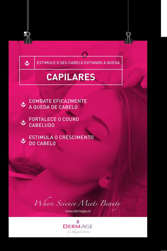 Clínica DermAge Branding - Poster