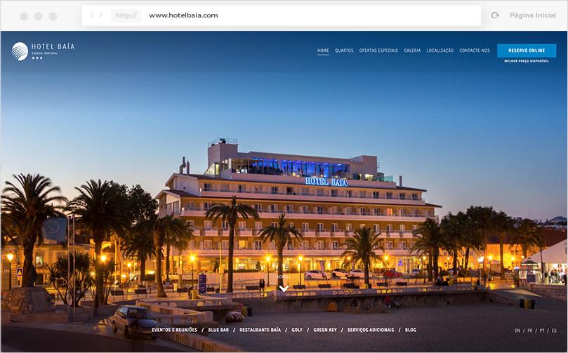 Hotel Baía - SEO