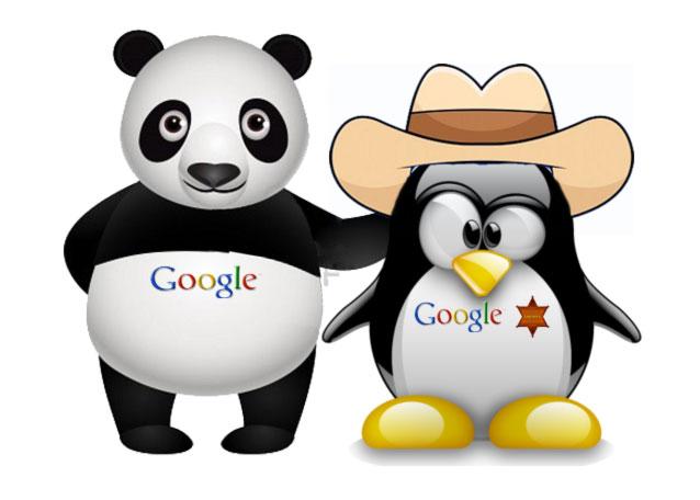 As atualizações do algorítmo do Google - Panda e Penguin